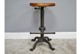 Circular Adjustable Mixed Stool 4