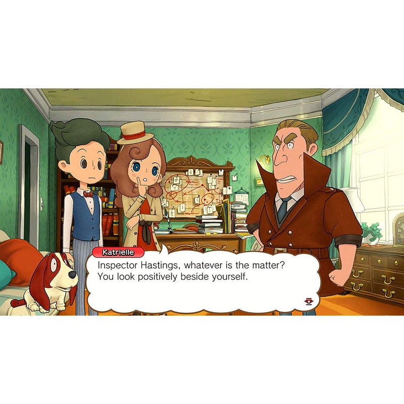 Layton's Mystery Journey: Katrielle and the Millionaires' Conspiracy for Nintendo Switch