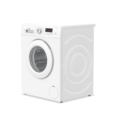 Bosch Serie 2 WAJ24006GB 7Kg Washing Machine with 1200 rpm - White - A+++ Rated