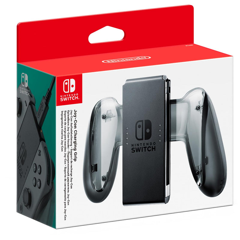 Nintendo Switch Charging Grip - Grey
