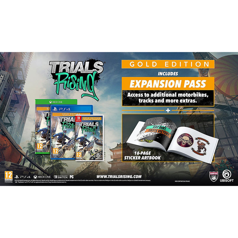 Trials Rising Gold Edition for Xbox One [Enhanced for Xbox One X]