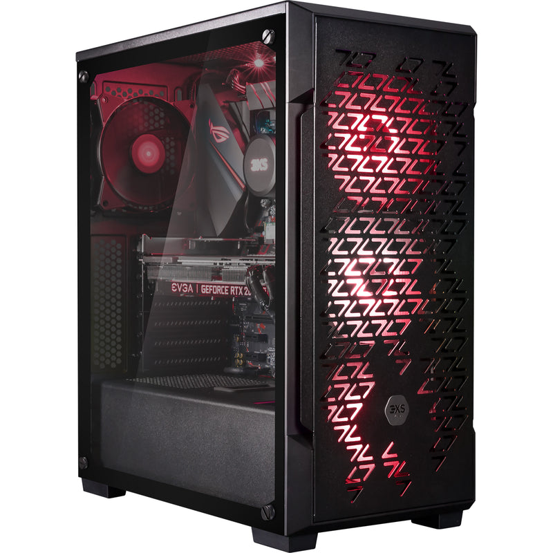 3XS Halo 2080 Super RGB Gaming Tower Gaming Desktop - 2TB + 1TB - Black