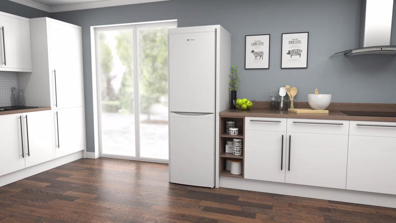 Hoover HVBF5182WK 50/50 Frost Free Fridge Freezer - White - A+ Rated