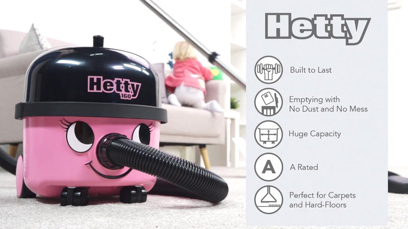 Hetty HET160 Cylinder Vacuum Cleaner
