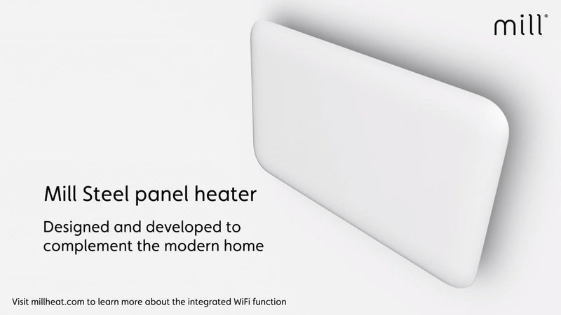 Mill Heat 99439 Wifi Connected Convector Heater 1500W - White