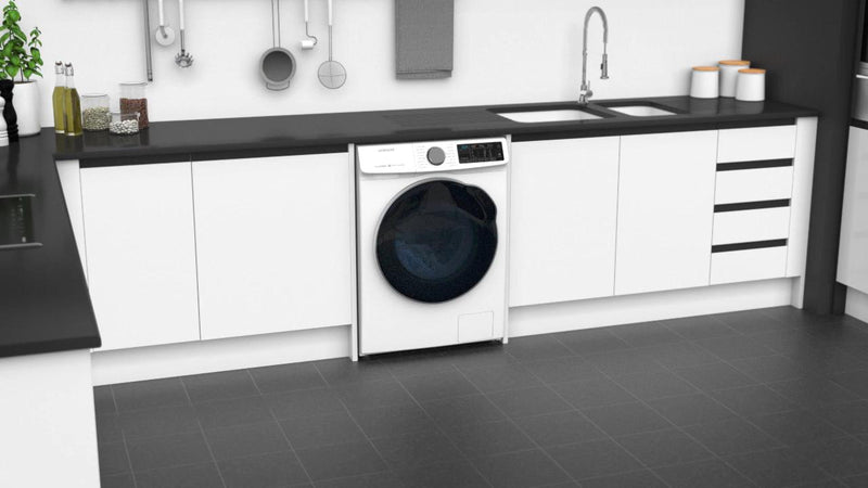 Samsung ecobubble™ WD10N645RAW Wifi Connected 10Kg / 6Kg Washer Dryer with 1400 rpm - White - A Rated