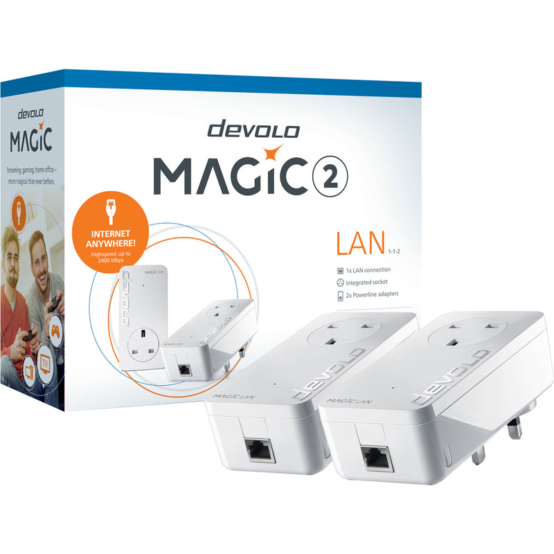 Devolo Magic 2 LAN Starter Kit Powerline Kit