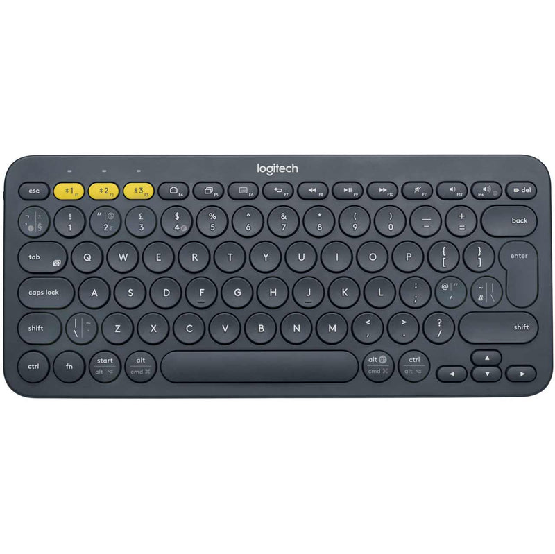 Logitech Multi-Device K380 Bluetooth Keyboard - Black