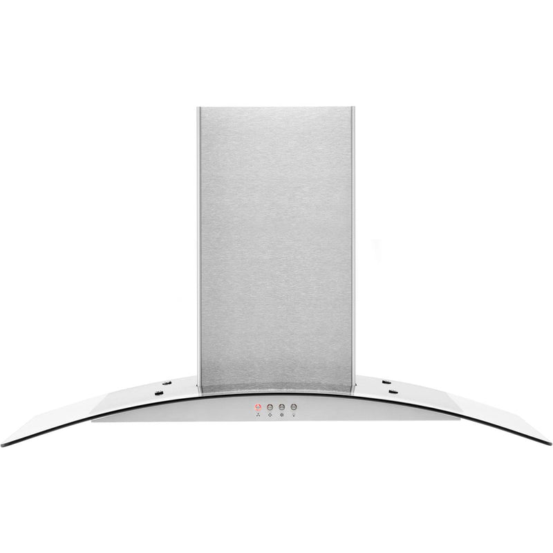 Amica OKP9321G 90 cm Chimney Cooker Hood - Stainless Steel - E Rated
