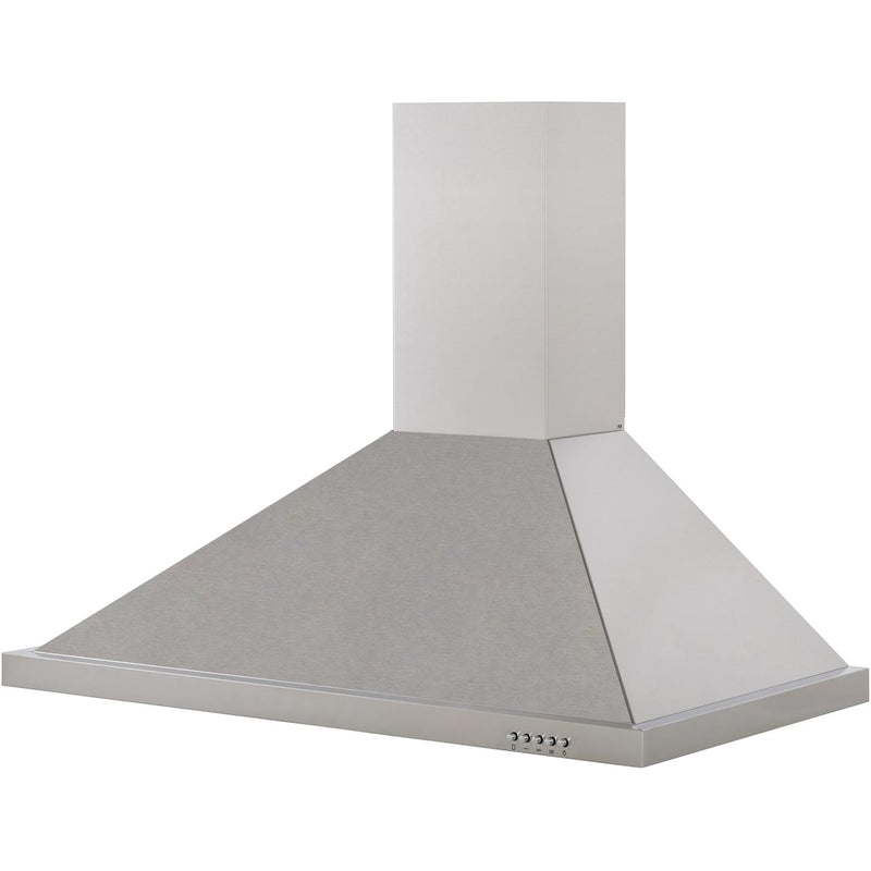 Baumatic BECH90X 90 cm Chimney Cooker Hood - Stainless Steel - C Rated