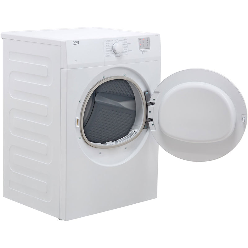 Beko DTGV7000W 7Kg Vented Tumble Dryer - White - C Rated