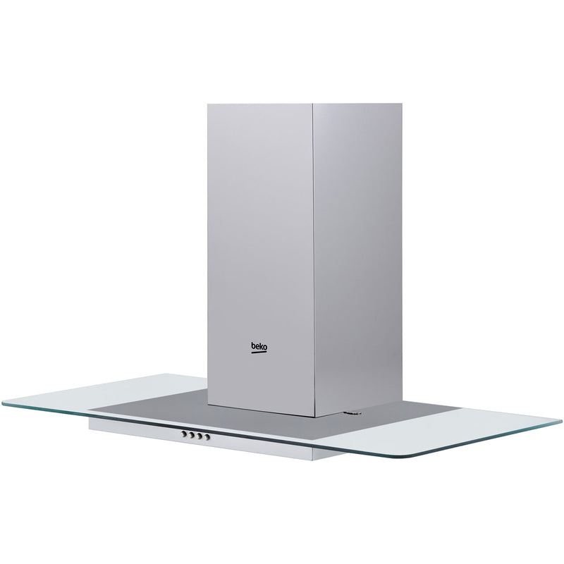 Beko HCF91620X 90 cm Chimney Cooker Hood - Stainless Steel - B Rated