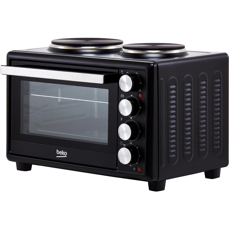 Beko MSH28B Mini Oven with Hob - Black