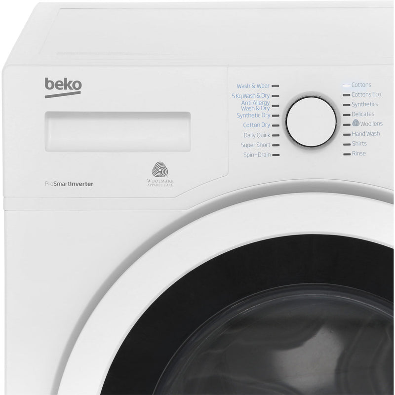 Beko WDR7543121B 7Kg / 5Kg Washer Dryer with 1400 rpm - Black - A Rated