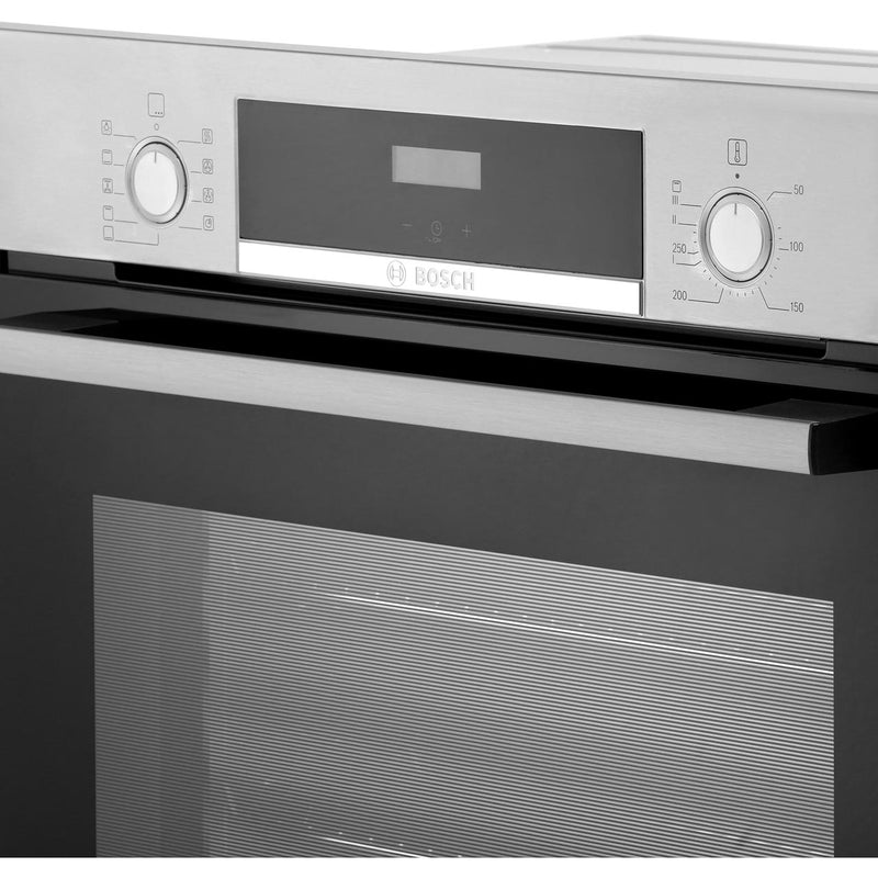 Bosch Serie 4 HBS534BW0B Built In Electric Single Oven - White - A Rated