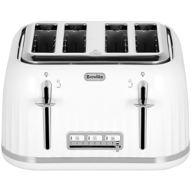 Breville Impressions Collection VTT702 4 Slice Toaster - Cream