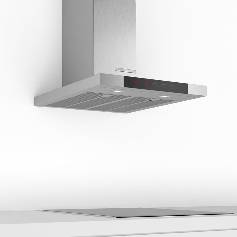 Bosch Serie 6 DWB68JQ50B 60 cm Chimney Cooker Hood - Stainless Steel - A Rated
