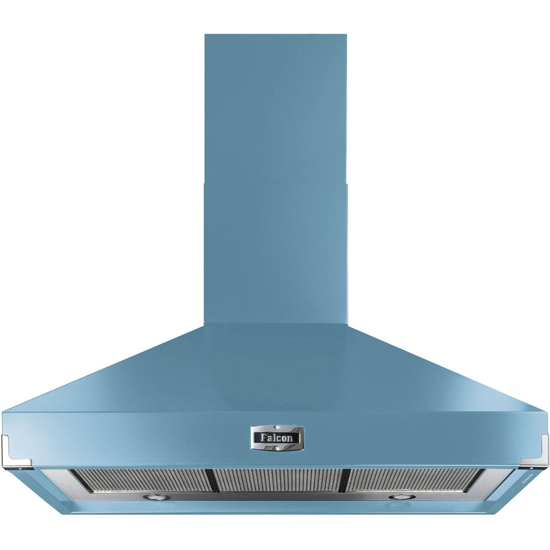 Falcon FHDSE900CA/N 90 cm Chimney Cooker Hood - China Blue - A Rated