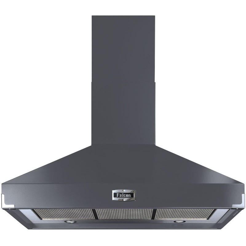 Falcon FHDSE1000SL/N 100 cm Chimney Cooker Hood - Slate - A Rated