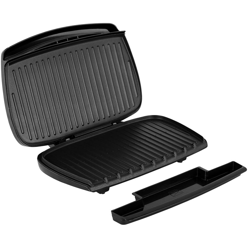 George Foreman Entertaining 10 Portion 23440 Health Grill - Black