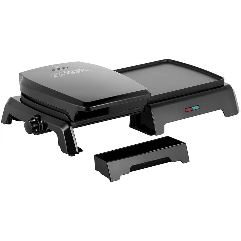 George Foreman Grill & Griddle 23450 Health Grill - Black