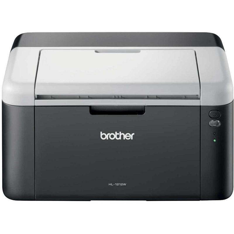 Brother HL-1212W Compact Wireless Mono Laser Printer - Black