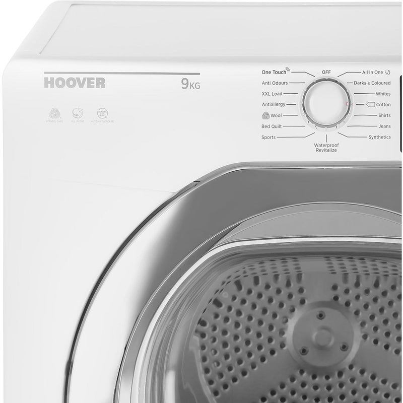 Hoover Dynamic Next Advance DXC9TCER 9Kg Condenser Tumble Dryer - Graphite / Chrome - B Rated