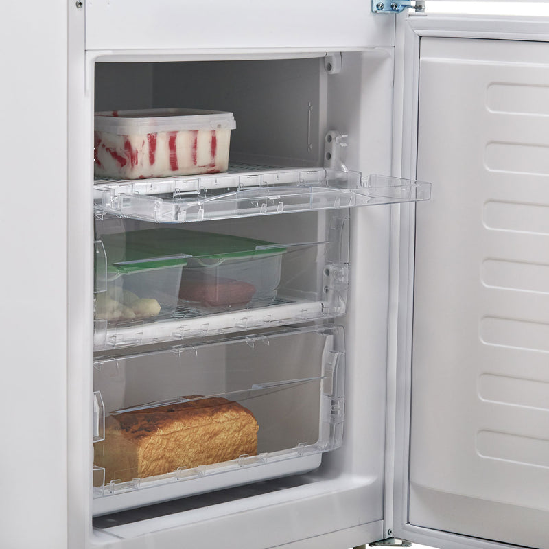 Indesit IBD5515S 60/40 Fridge Freezer - Silver - A+ Rated