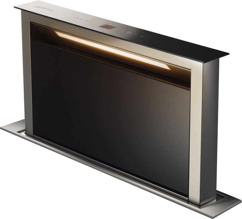 Smeg KDD60VXE-2 54 cm Downdraft Cooker Hood - Stainless Steel / Black - B Rated