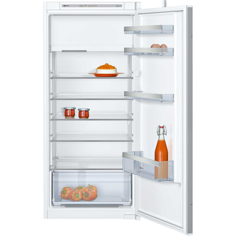 NEFF N50 KI2422S30G Integrated Upright Fridge with Ice Box - Sliding Door Fixing Kit - White - A++ Rated