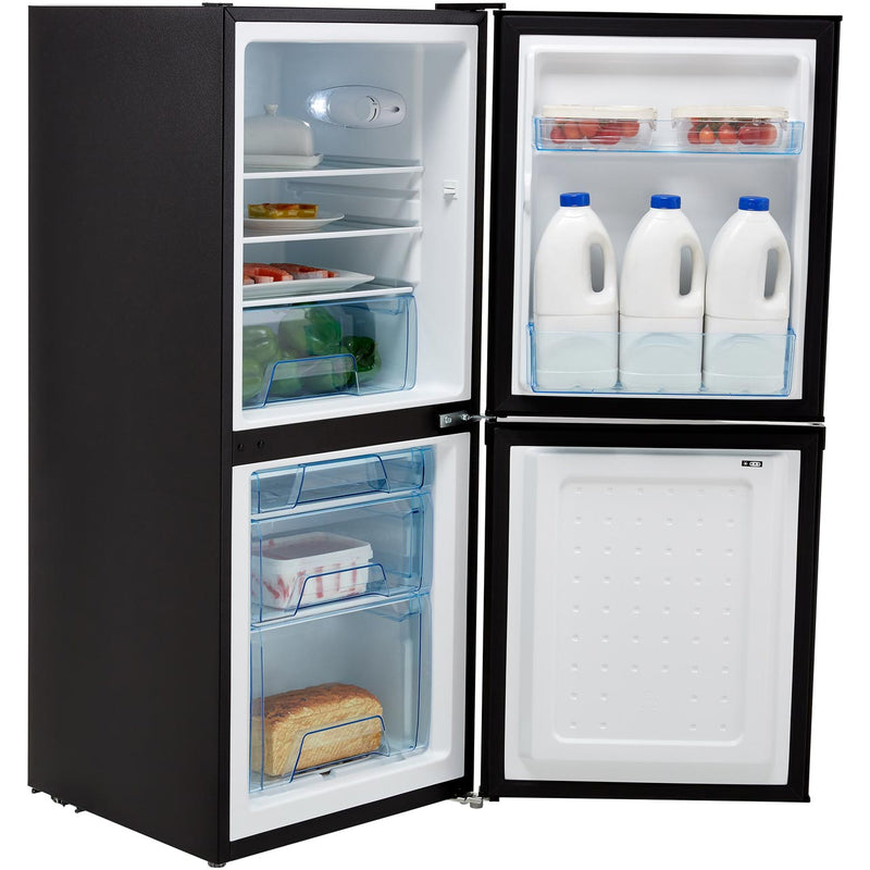 Lec T5039S.1 50/50 Fridge Freezer - Silver - A+ Rated