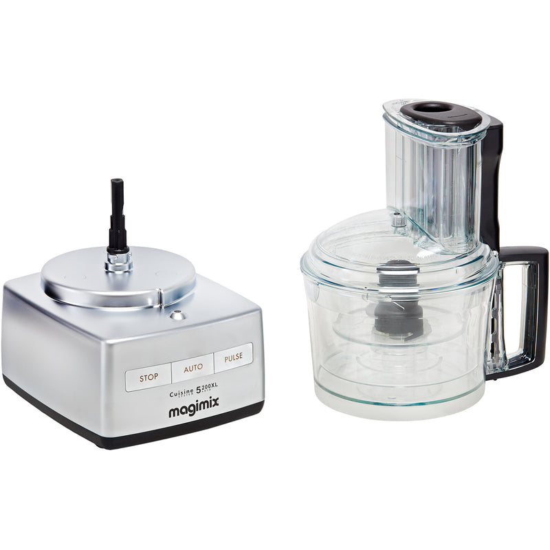 Magimix 5200XL 18591 3.6 Litre Food Processor With 12 Accessories - Satin Steel