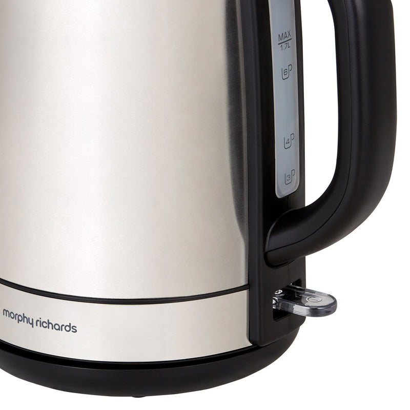 Morphy Richards Equip 102779 Kettle - Brushed Stainless Steel