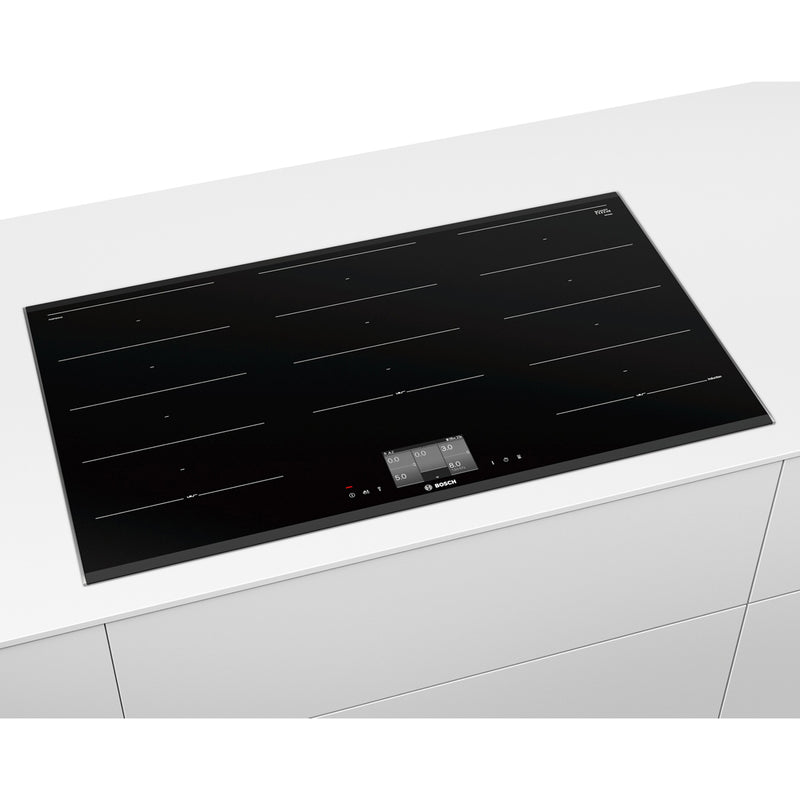 Bosch Serie 8 PXX975KW1E 92cm Induction Hob - Black