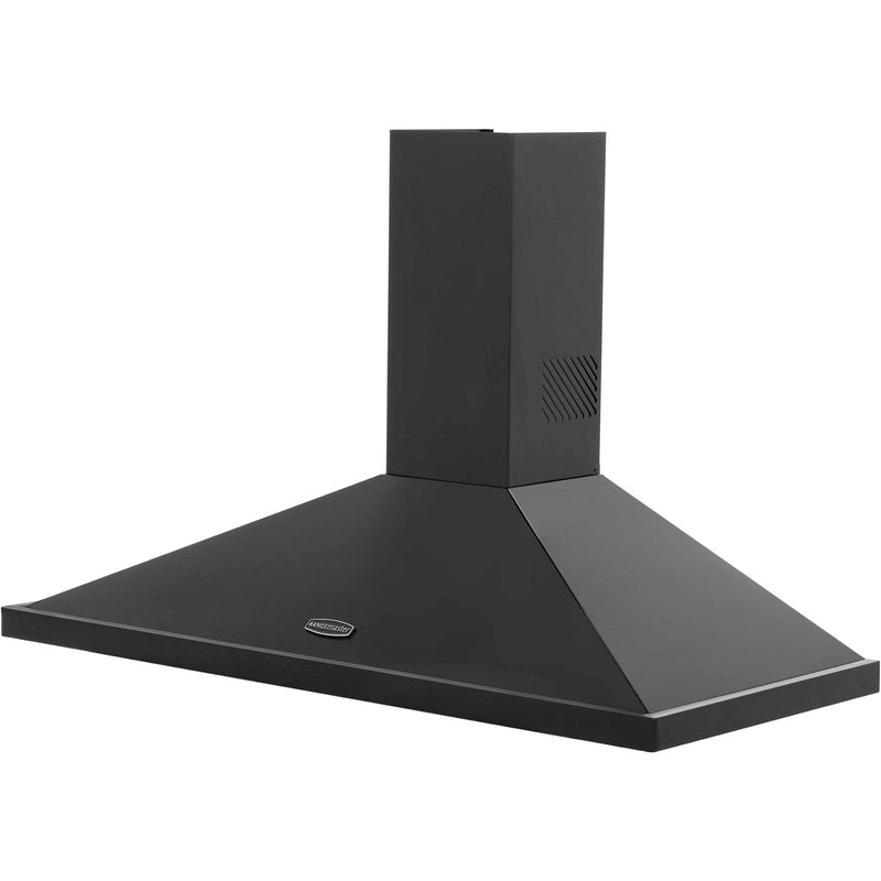 Rangemaster LEIHDC110BC 110 cm Chimney Cooker Hood - Black / Chrome - B Rated