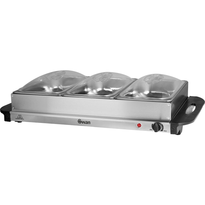 Swan SBS75 Buffet Server - Stainless Steel