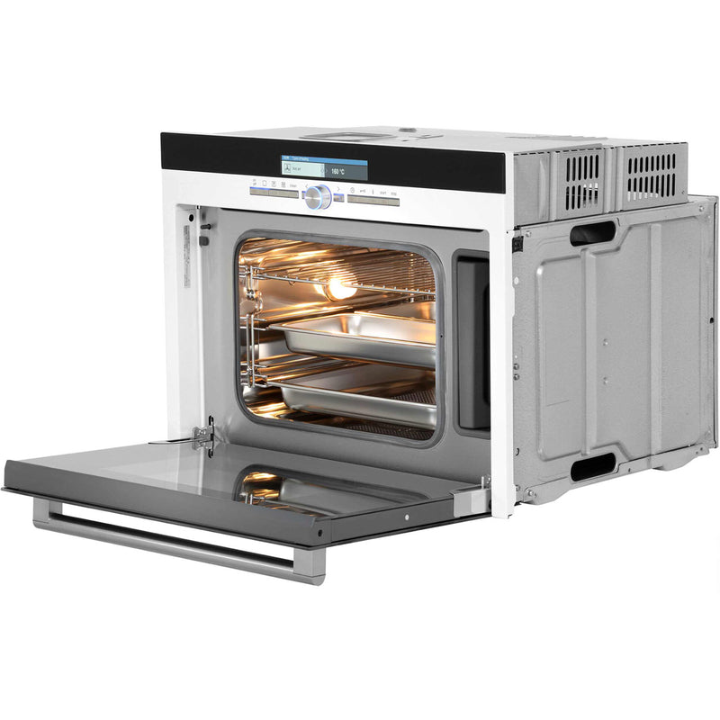 Siemens IQ-700 HB36D275B Built In Compact Steam Oven - White