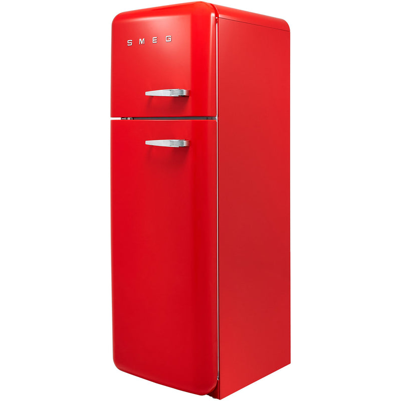 Smeg Left Hand Hinge FAB30LRD3UK 70/30 Fridge Freezer - Red - A+++ Rated