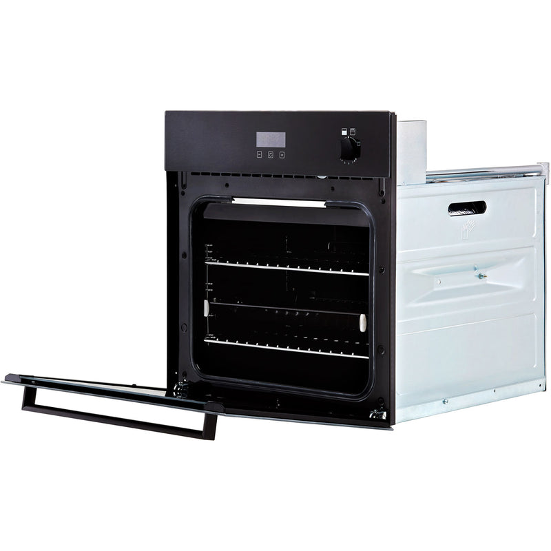 Stoves ST BI600G Built In Gas Single Oven with Full Width Electric Grill - Black - A+ Rated