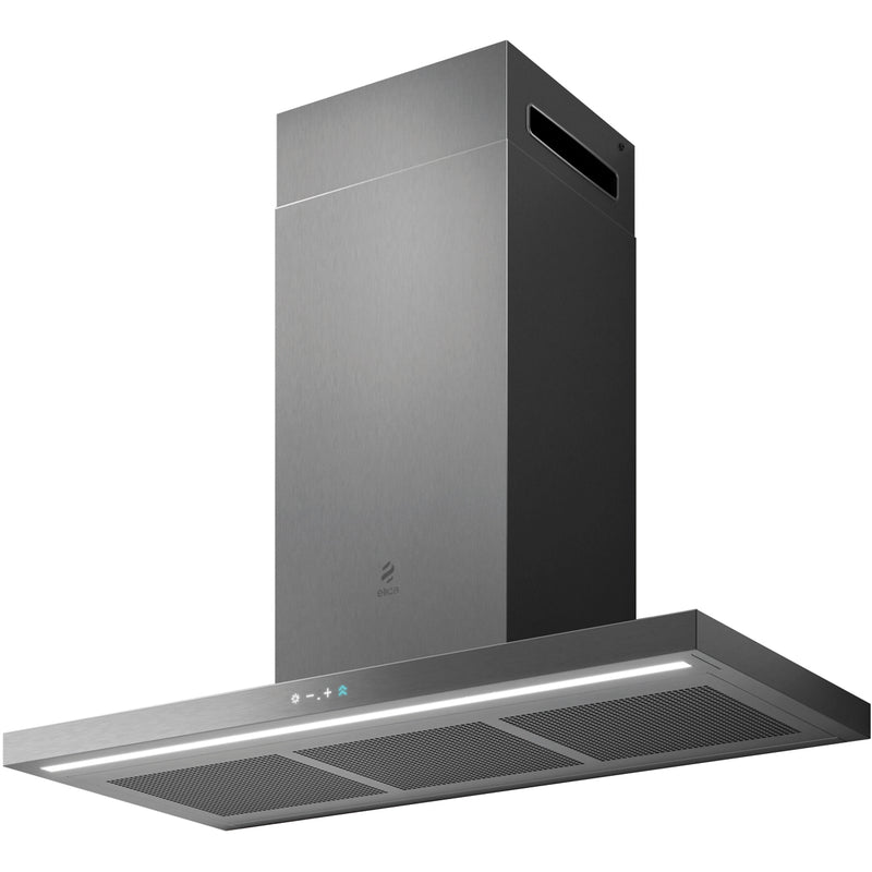 Elica Thin 90 90 cm Chimney Cooker Hood - Stainless Steel - A Rated