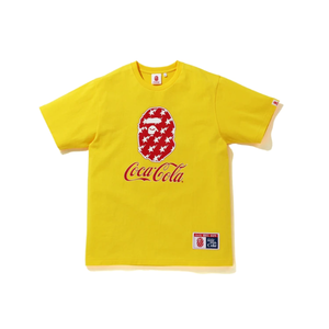 CAMISETA BAPE x COCA COLA TEE YELLOW