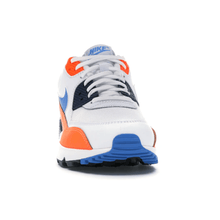Carregar imagem no visualizador da galeria, TÊNIS NIKE AIR MAX 90 WHITE PHOTO BLUE TOTAL ORANGE