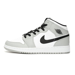 TÊNIS JORDAN 1 MID LIGHT SMOKE GREY