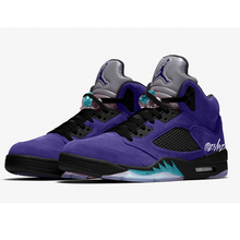Carregar imagem no visualizador da galeria, TÊNIS JORDAN 5 RETRO ALTERNATE GRAPE