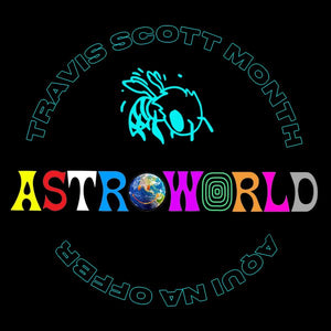 GORRO TRAVIS SCOTT ASTROWORLD x DSM WISH YOU WERE HERE
