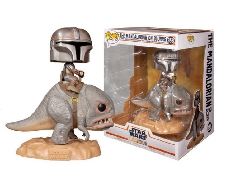 FUNKO POP! THE MANDALORIAN ON BLURRG #358 – DELUXE