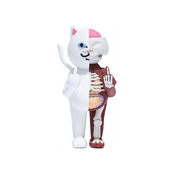 KAWS RIPNDIP LORD NERMAL VINYL FIGURE WHITE