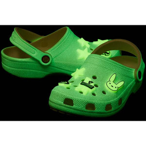 CROCS CLASSIC CLOG X BAD BUNNY GLOW IN THE DARK