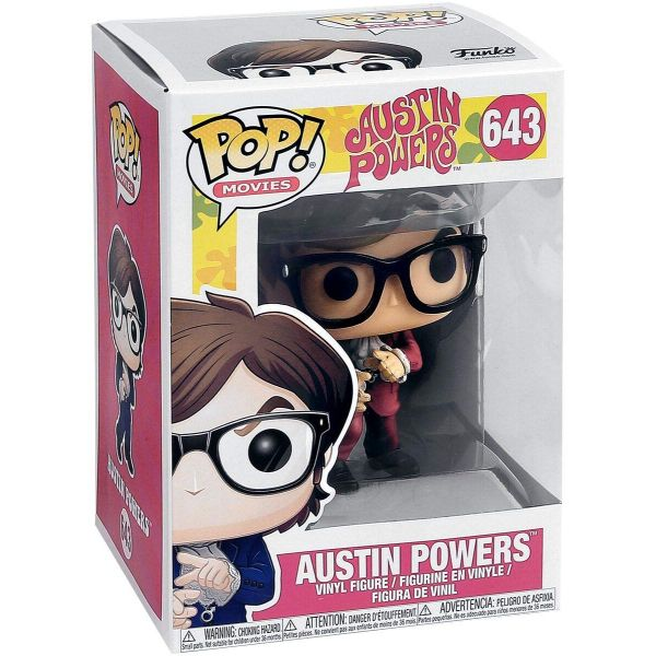 FUNKO POP! MOVIES AUSTIN POWERS #643