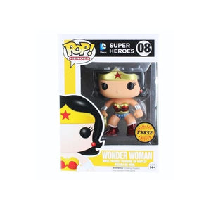 FUNKO POP WONDER WOMAN (CHASE EXCLUSIVE) #08